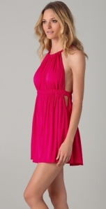 hot pink summer dress1